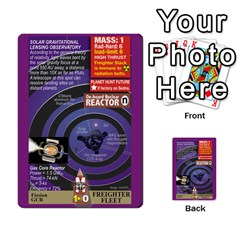 High Frontier Ii By Carles Ryhr   Multi Purpose Cards (rectangle)   Zejnb1slxmy0   Www Artscow Com Back 30