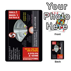 High Frontier Ii By Carles Ryhr   Multi Purpose Cards (rectangle)   Zejnb1slxmy0   Www Artscow Com Back 39