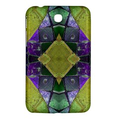 Purple Yellow Stone Abstract Samsung Galaxy Tab 3 (7 ) P3200 Hardshell Case  by BrightVibesDesign