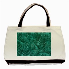 Tropical Hawaiian Pattern Basic Tote Bag (two Sides) by dflcprints