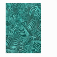 Tropical Hawaiian Pattern Large Garden Flag (two Sides) by dflcprints