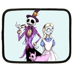 Nightmare In Wonderland  Netbook Case (xxl)  by lvbart