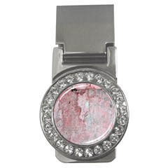Coral Pink Abstract Background Texture Money Clip (cz) by CrypticFragmentsDesign