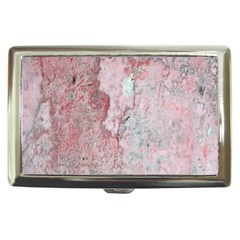 Coral Pink Abstract Background Texture Cigarette Money Case by CrypticFragmentsDesign