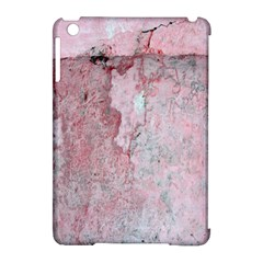 Coral Pink Abstract Background Texture Apple Ipad Mini Hardshell Case (compatible With Smart Cover) by CrypticFragmentsDesign