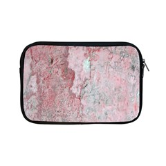Coral Pink Abstract Background Texture Apple Ipad Mini Zipper Case by CrypticFragmentsDesign