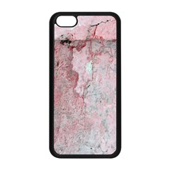 Coral Pink Abstract Background Texture Apple Iphone 5c Seamless Case (black) by CrypticFragmentsDesign