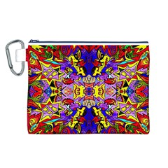 Psycho One Canvas Cosmetic Bag (l) by MRTACPANS