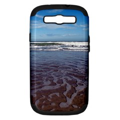 Ocean Surf Beach Waves Samsung Galaxy S Iii Hardshell Case (pc+silicone) by CrypticFragmentsColors