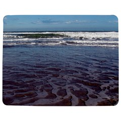 Ocean Surf Beach Waves Jigsaw Puzzle Photo Stand (Rectangular) by CrypticFragmentsColors