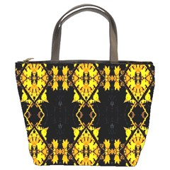 Italy Lit0112001018 Bucket Bag by tresfoliaorangeyellowbrown