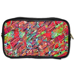 Expressive Abstract Grunge Toiletries Bags 2-Side by dflcprints