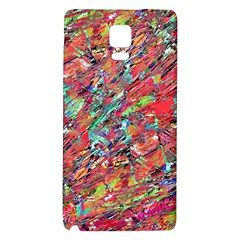 Expressive Abstract Grunge Galaxy Note 4 Back Case by dflcprints