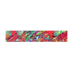 Expressive Abstract Grunge Flano Scarf (mini) by dflcprintsclothing