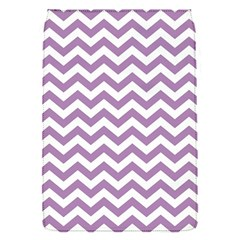 Lilac Purple & White Zigzag Pattern Removable Flap Cover (s) by Zandiepants