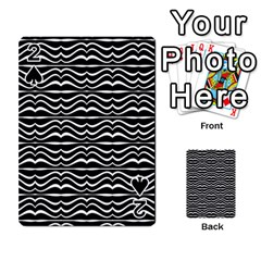 Modern Zebra Pattern Playing Cards 54 Designs  by dflcprints