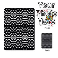 Modern Zebra Pattern Multi Purpose Cards (rectangle)  by dflcprints