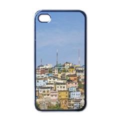 Cerro Santa Ana Guayaquil Ecuador Apple Iphone 4 Case (black) by dflcprints