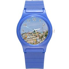 Cerro Santa Ana Guayaquil Ecuador Round Plastic Sport Watch (s) by dflcprints