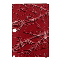 Thorny Abstract,red Samsung Galaxy Tab Pro 12.2 Hardshell Case by MoreColorsinLife