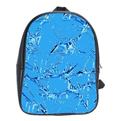 Thorny Abstract,ice Blue School Bags (xl)  by MoreColorsinLife