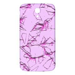 Thorny Abstract,soft Pink Samsung Galaxy Mega I9200 Hardshell Back Case by MoreColorsinLife