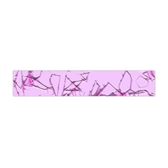 Thorny Abstract,soft Pink Flano Scarf (mini)
