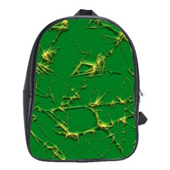 Thorny Abstract,green School Bags (xl)  by MoreColorsinLife