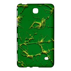Thorny Abstract,green Samsung Galaxy Tab 4 (7 ) Hardshell Case  by MoreColorsinLife