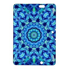 Blue Sea Jewel Mandala Kindle Fire Hdx 8 9  Hardshell Case by Zandiepants