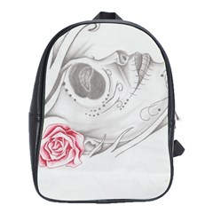 Day Of The Dead School Bags (xl)  by Limitless
