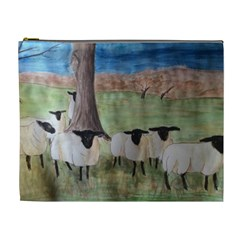 Counting Sheep Cosmetic Bag (XL) by DeneWestUK