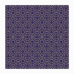 Stylized Floral Check Medium Glasses Cloth (2 Side) by dflcprints