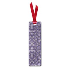 Stylized Floral Check Small Book Marks by dflcprints