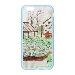 Watercolour Garden Apple Seamless iPhone 6/6S Case (Color) by DeneWestUK