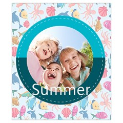 Summer By Summer Time    Drawstring Pouch (xs)   Yt02ixin9j5r   Www Artscow Com Back