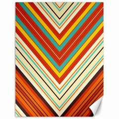 Bent stripes                                    			Canvas 12  x 16  by LalyLauraFLM