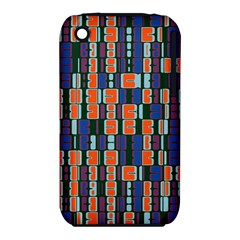 4 Colors Shapes                                    apple Iphone 3g/3gs Hardshell Case (pc+silicone) by LalyLauraFLM