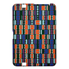 4 Colors Shapes                                    kindle Fire Hd 8 9  Hardshell Case by LalyLauraFLM
