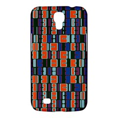 4 Colors Shapes                                    			samsung Galaxy Mega 6 3  I9200 Hardshell Case by LalyLauraFLM