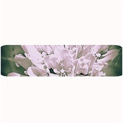White Flower Large Bar Mats by uniquedesignsbycassie