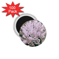 White Flower 1.75  Magnets (100 pack)  by uniquedesignsbycassie