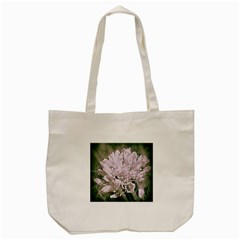 White Flower Tote Bag (cream) by uniquedesignsbycassie