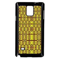 Small  Big Samsung Galaxy Note 4 Case (black) by MRTACPANS