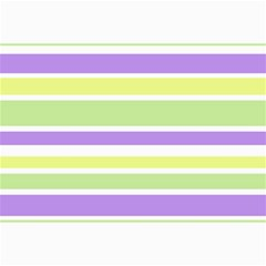 Yellow Purple Green Stripes Collage Prints by BrightVibesDesign