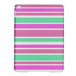 Pink Green Stripes iPad Air 2 Hardshell Cases