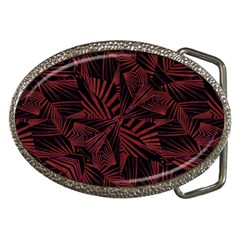 Sharp Tribal Pattern Belt Buckles by dflcprints