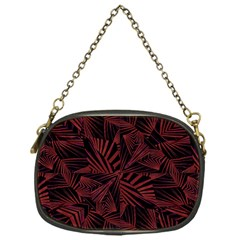 Sharp Tribal Pattern Chain Purses (one Side)  by dflcprints