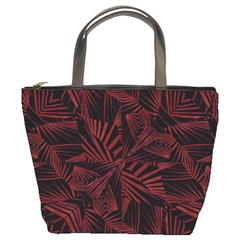 Sharp Tribal Pattern Bucket Bags by dflcprints