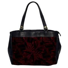 Sharp Tribal Pattern Office Handbags by dflcprints